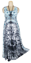 Load image into Gallery viewer, Viscose Tie Dye Maxi Dress UK  One Size 14-24 E7
