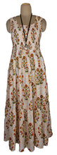 Load image into Gallery viewer, O Viscose Tiered Maxi Dress UK  One Size 14-24 E14