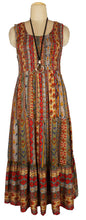Load image into Gallery viewer, Viscose Tiered Maxi Dress UK  One Size 14-24 E21