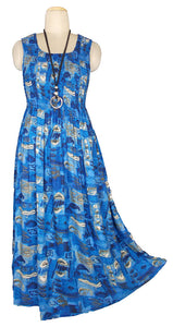 Viscose Maxi Dress UK One Size 14-24 E29
