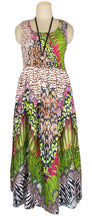 Load image into Gallery viewer, Viscose Maxi Dress UK One Size 14-24 E35