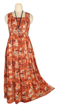 Load image into Gallery viewer, Viscose Maxi Dress UK One Size 14-24 E41