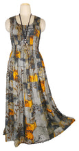 Load image into Gallery viewer, Viscose Maxi Dress UK One Size 14-24 E42