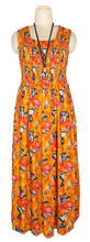 Load image into Gallery viewer, Viscose Maxi Dress UK One Size 14-24 E44