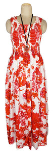 Viscose Maxi Dress UK One Size 14-24 E48