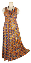 Load image into Gallery viewer, Viscose Maxi Dress UK One Size 14-24 E49
