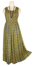 Load image into Gallery viewer, Viscose Maxi Dress UK One Size 14-24 E50