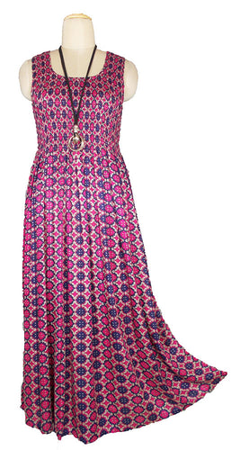 Viscose Maxi Dress UK One Size 14-24 E52