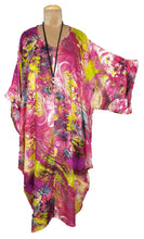 Load image into Gallery viewer, Pink Goa Lagenlook Viscose Dress Size 18 - 32