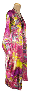 Pink Goa Lagenlook Viscose Dress Size 18 - 32