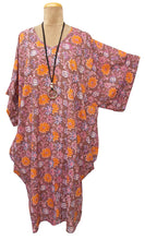 Load image into Gallery viewer, Goa Lagenlook Cotton Dress Size 18 - 32 G12