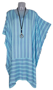 Loose Style Striped Kaftan One-Size 16-26