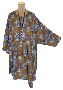 Brown Aruba Oversized Tunic Size 22 to 32
