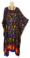 Load image into Gallery viewer, Rayon Printed One Size Kaftan Size 16 -26 K10