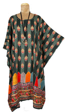 Load image into Gallery viewer, Rayon Printed One Size Kaftan Size 16 -26 K12