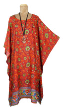 Load image into Gallery viewer, Rayon Printed One Size Kaftan Size 16 -26 K13