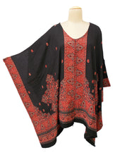 Load image into Gallery viewer, Autumn Winter Kosava Poncho Size 20-32 KO39