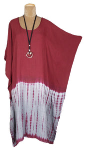 TIE DYE Kaftan Cover Up  Size 18 -28