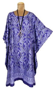 Cotton Printed One Size Kaftan Size 16 -26 K17