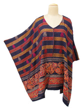 Load image into Gallery viewer, Autumn Winter Kosava Poncho Size 20-32 KO19