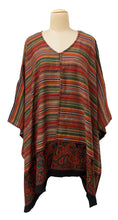 Load image into Gallery viewer, Autumn Winter Kosava Poncho Size 20-32 KO28