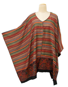Autumn Winter Kosava Poncho Size 20-32 KO28