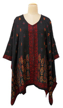 Load image into Gallery viewer, Autumn Winter Kosava Poncho Size 20-32 KO44