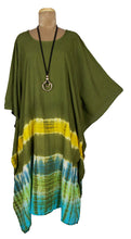 Load image into Gallery viewer, TIE DYE Kaftan Cover Up  Size 16 -26 K1