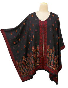 Autumn Winter Kosava Poncho Size 20-32 KO44