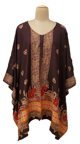 Autumn Winter Kosava Poncho Size 20-32 KO46