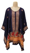 Load image into Gallery viewer, Autumn Winter Kosava Poncho Size 20-32 KO45