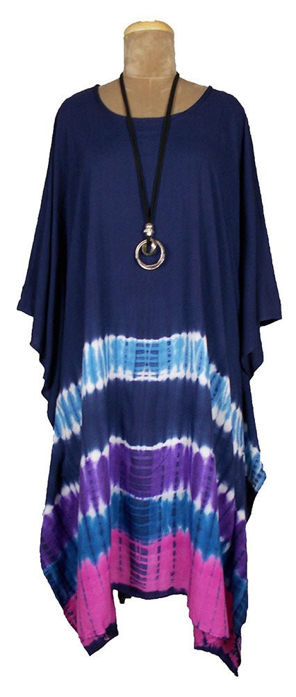 TIE DYE Kaftan Cover Up  Size 16 -26 K2