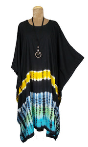 TIE DYE Kaftan Cover Up  Size 16 -26 K3