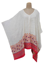 Load image into Gallery viewer, Autumn Winter Kosava Poncho Size 20-32 KO17