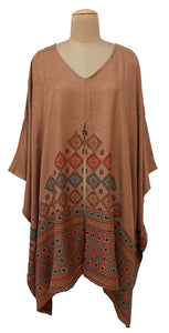 Autumn Winter Kosava Poncho Size 20-32 KO29