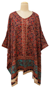 Autumn Winter Kosava Poncho Size 20-32 KO3