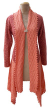 Load image into Gallery viewer, Winter Knitted Long Sleeve Cardigan Size 10 12 14