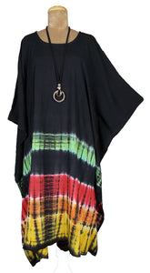 TIE DYE Kaftan Cover Up  Size 16 -26 K5