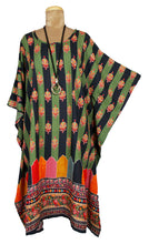 Load image into Gallery viewer, Rayon Printed One Size Kaftan Size 16 -26 K7