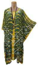 Load image into Gallery viewer, Block Print TIE DYE Kaftan Dress Size 14 -26 BK7
