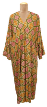 Load image into Gallery viewer, Bali Maxi Kaftan Dress Size 14 to 26 NM1