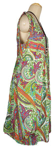 Oversized Floral Print Cotton Maxi Dress Size 18-26 N2