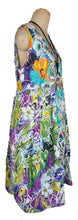 Load image into Gallery viewer, Oversized Floral Print Cotton Maxi Dress Size 18-26 N3