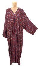 Load image into Gallery viewer, Bali Maxi Kaftan Dress Size 14 to 26 NM4