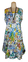 Load image into Gallery viewer, Oversized Floral Print Cotton Maxi Dress Size 18-26 N5