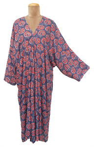 Bali Maxi Kaftan Dress Size 14 to 26 NM8