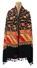 Load image into Gallery viewer, The Oriental Garden Embroidered Shawl S7