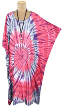 Load image into Gallery viewer, Spiral TIE DYE Kaftan One size 18-24