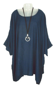 100% VISCOSE LAGENLOOK OVERSIZED FLOATY KAFTAN  SIZE 24 - 32
