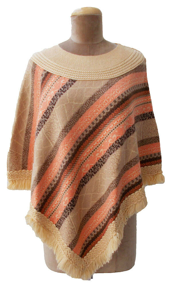 Winter Poncho One Size 6  8 10 12